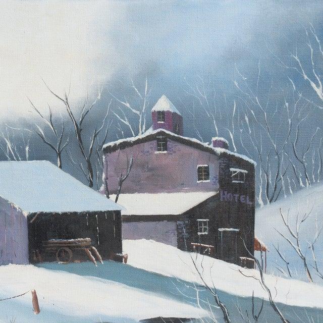 Image of Winter Evening by Guerdon Hanson, 1975