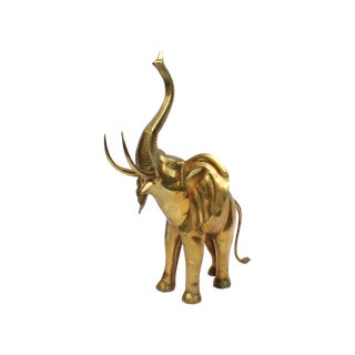 Monumental Brass Elephant