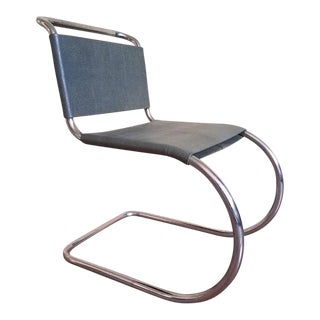 Mies Van Der Rohe Mr-10 Side Chair