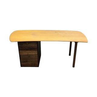 Custom Mixed Wood Desk