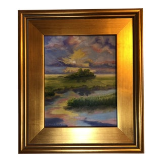 """""""Sunset on the Sound""""Painting"""