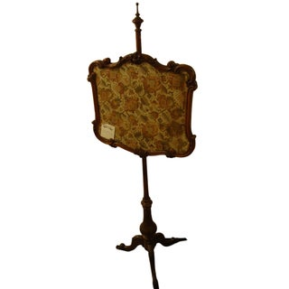 19th Century Antique Rococo Fire Screen
