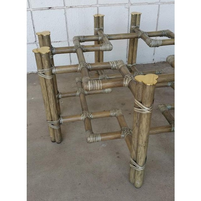 Image of Rattan McGuire Coffee Table
