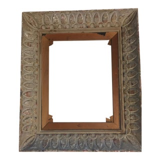 1930's Carved Picture Frame