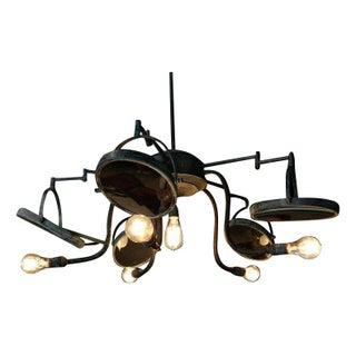 Rotating Mirrors Reflective Chandelier