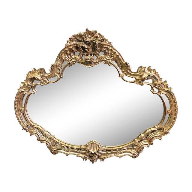 Vintage Turner MFG Company Carved Gilt Mirror - Image 1 of 7