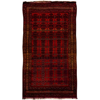 """New Tribal Hand Knotted Area Rug - 5'3"""" x 9'4"""""""