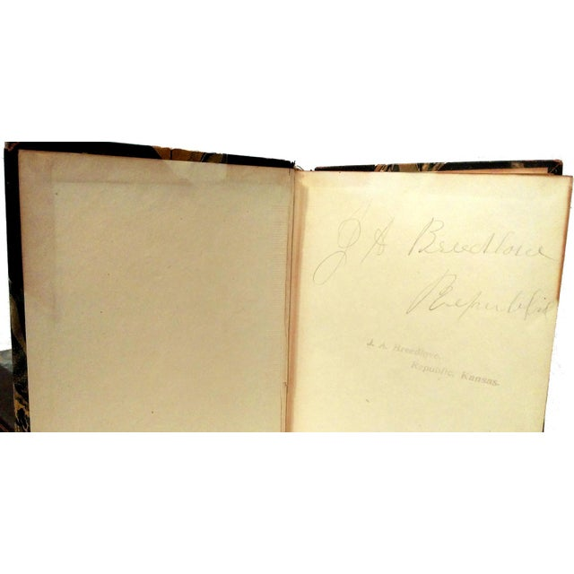 """Limited Ed. 1907 """"Works of Abraham Lincoln"""" - 8 - Image 6 of 10"""