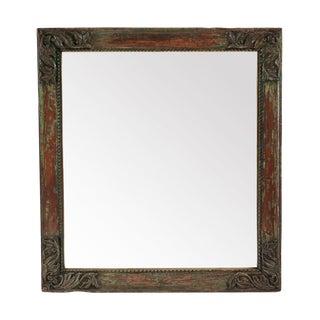 Vintage Architectural Carved Mirror