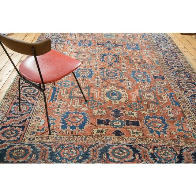 Vintage Heriz Carpet- 7′4″ × 10′1″ - Image 9 of 10