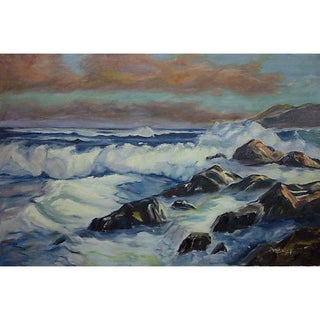 Seascape Oil Painting by Sharon Boyle