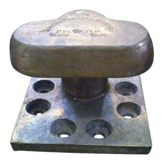 Bronze Nautical Bollards - A Pair
