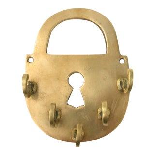 Brass Lock Key Holder