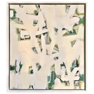 Modernist Abstract Painting, Signed by Artist Paul Rinaldi