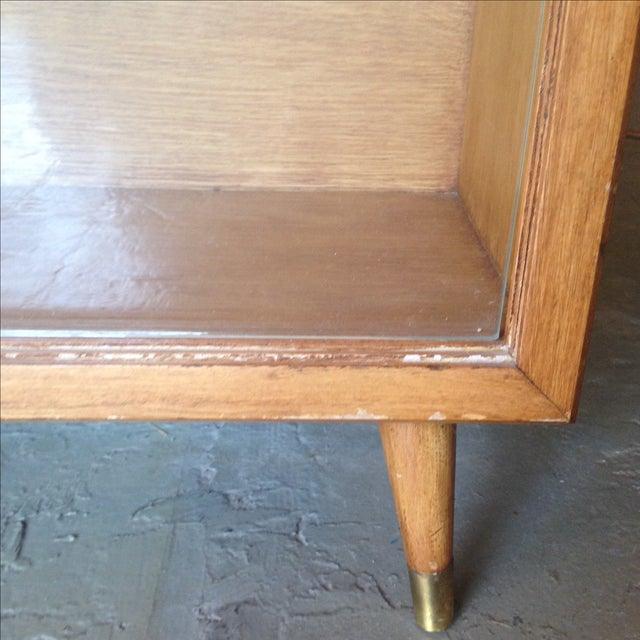 Mid-Century Glass Door Cocktail Bar - Image 5 of 6