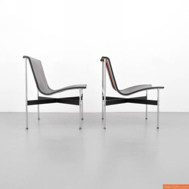 Pair Of William Katavolos, Ross Littell & Douglas Kelley, New York Lounge Chairs - Image 4 of 7