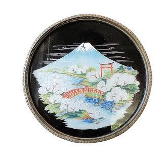 1950s Japanese Serving Tray - Mount Fuji