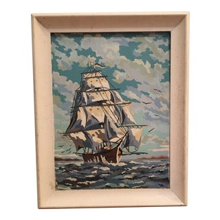 Ship at Sea Paint by Number Painting