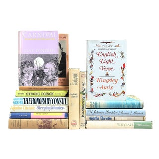 Spring-Hued Dustjacket Classics - Set of 15
