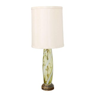 Venetian Art Glass Table Lamp