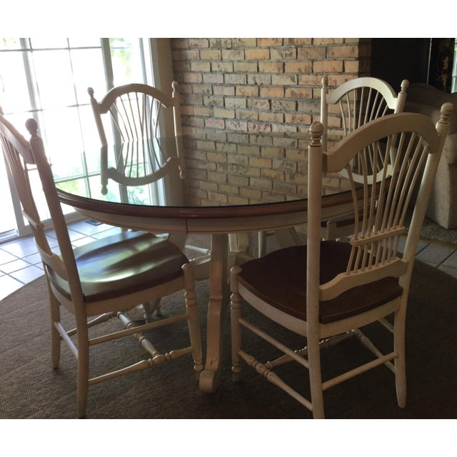 French Country Dining Table And Chairs: Ethan Allen Country French Dining Table And Chairs