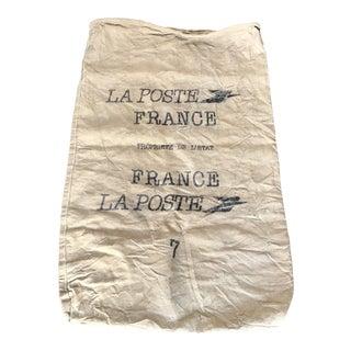 Vintage French Linen Mailbag La Poste