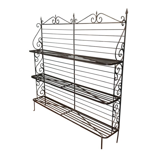 Wrought Iron Baker's Rack - Image 1 of 7