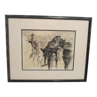 Grand Canyon Charcoal by William Meyers