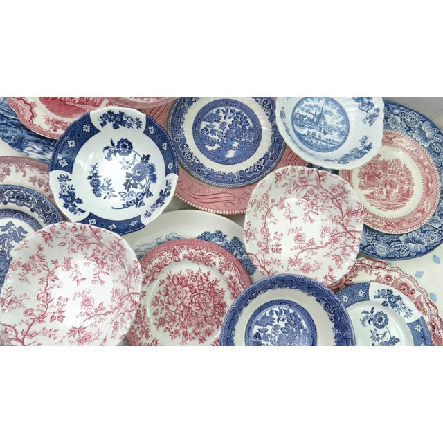 Mismatched Ironstone China Set, Service for 6 - Image 8 of 11