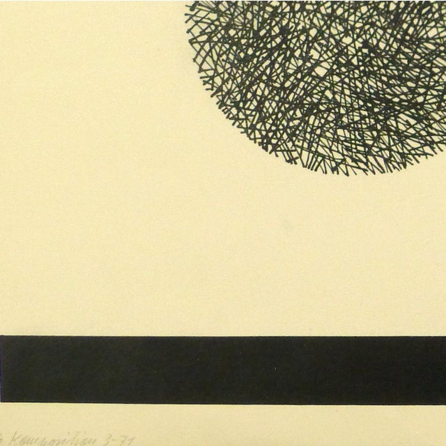 Abstract Fine Art Lithograph - Night & Day, 1971 - Image 3 of 4