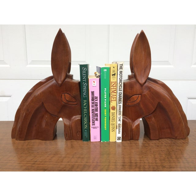 Art Deco Horse Head Bookends - A Pair - Image 3 of 6