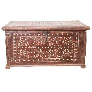 Aged Bone Inlay Merchant Box
