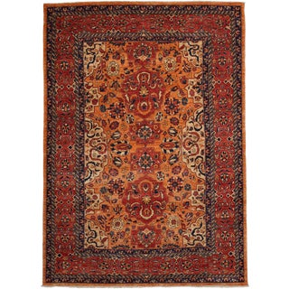 """Traditional Hand Knotted Area Rug - 5'8"""" X 7'10"""""""