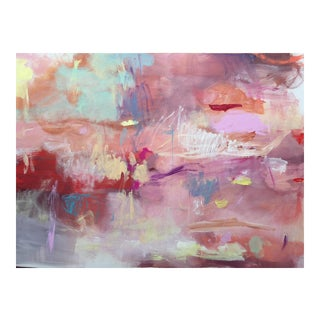 """Opera House"" Original Abstract Painting by Jenny Andrews Anderson"