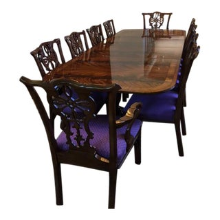Sutton Fine Furniture Dining Table, Chairs & Bookcase Set
