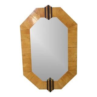 Deco Goat Skin Mirror