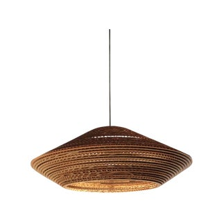 Modern Recycled Cardboard Pendant Light