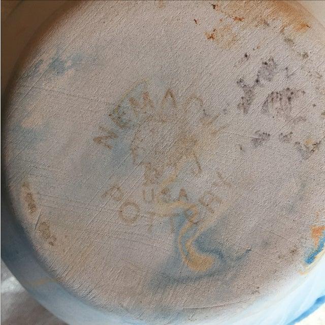 Nemadji Native American Marbelized Vase - Image 8 of 8