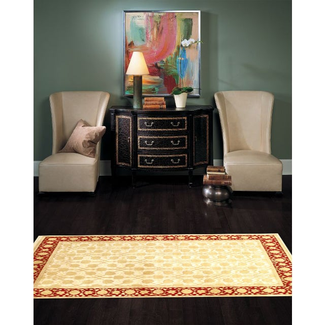 Hand-Knotted Indian Agra Rug - 6' X 9' - Image 2 of 2