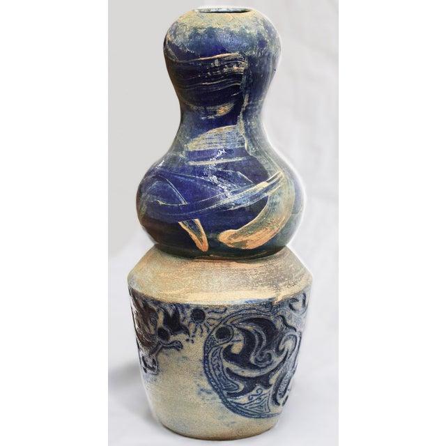 Vintage Large Art Vase, - Image 7 of 7