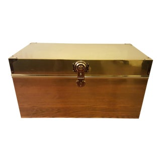 Dresher Cedar Lined Brass Chest