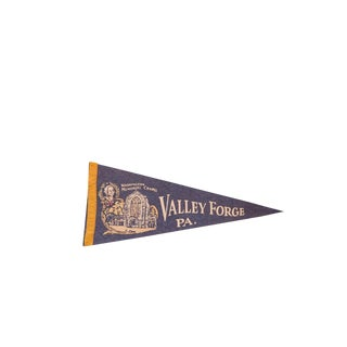 Valley Forge PA Felt Flag