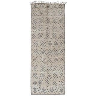 """Tic-Tac-Toe,"" Moroccan Berber Rug"