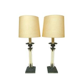 Paul Hanson Table Lamps - A Pair