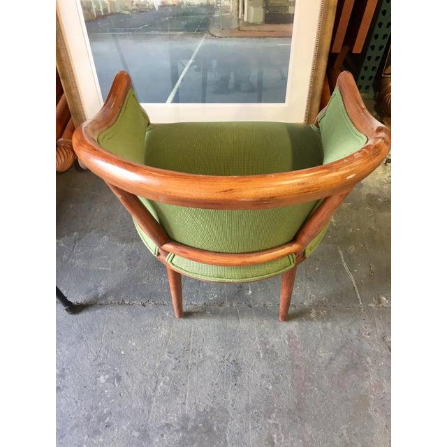 Green Corduroy & Bent Wood Chair - Image 6 of 8