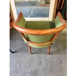 Image of Green Corduroy & Bent Wood Chair