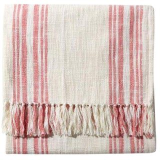 John Robshaw Cotton Throw Blanket
