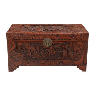 Antique Chinese Accent Box