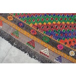 "Image of Hand Woven Turkish Kilim Area Rug - 6'9"" X 9'6"""
