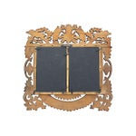 Image of French Hand-Carved Wood Picture Frame